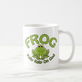Fully Rely On God Coffee Mug