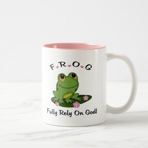 Fully Rely on God Mug