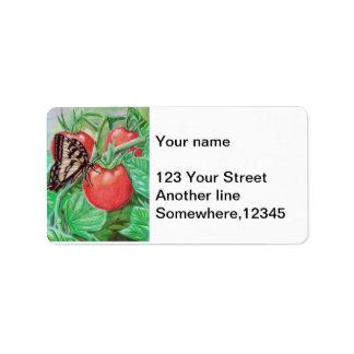 Fully Ripe Address Label