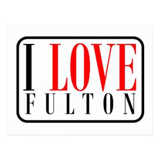 Fulton, Alabama Postcard