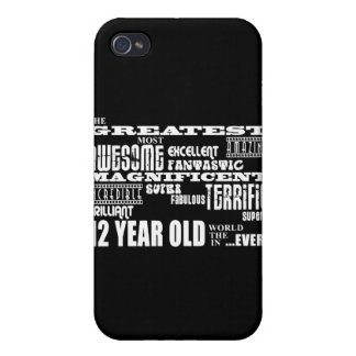 Fun 12th Birthday Party Greatest Twelve Year Old iPhone 4 Cases