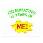 Fun 13th Birthday Gift Idea Postcards