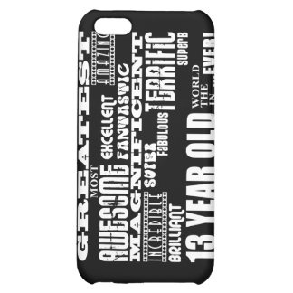 Fun 13th Birthday Party Greatest Thirteen Year Old Case For iPhone 5C