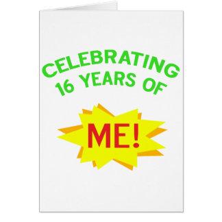 Fun 16th Birthday Gift Idea Greeting Cards