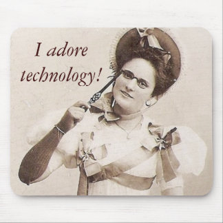 Fun 1800s Portrait from Eastern Europe Mouse Pad