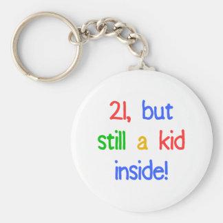 Fun 21st Birthday Humor Key Ring