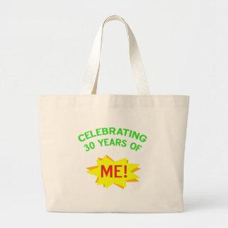Fun 30th Birthday Gift Idea Large Tote Bag