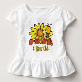 Fun 4th Birthday Gifts Toddler T-Shirt