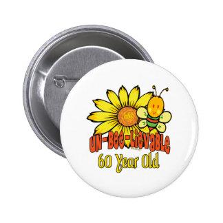 Fun 60th Birthday Gifts Pins