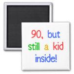 Fun 90th Birthday Humour Fridge Magnets