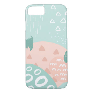 Fun Abstract Shapes 2 Phone Case