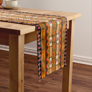 Fun African Tribal home pattern table runner