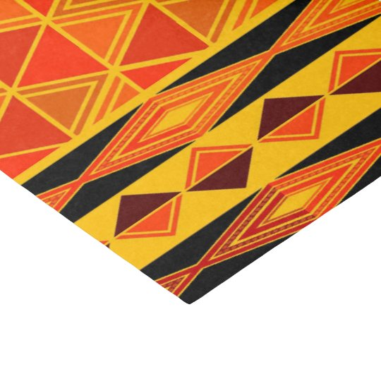 Fun African Tribal pattern party tissue paper