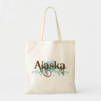 Fun Alaska Grunge T-shirt Gift Tote Bags