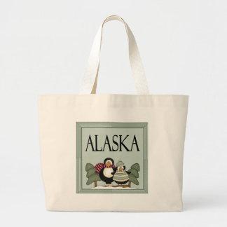 Fun Alaska Winter Design T-shirt Gift Jumbo Tote Bag