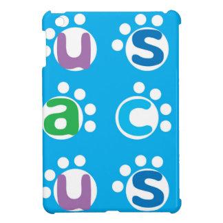Fun Alphabet Play & Paw Print Design iPad Mini Cover