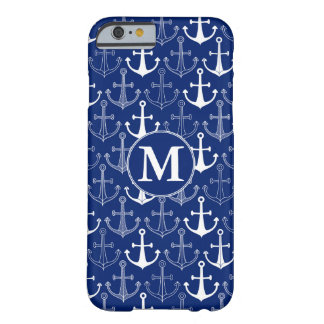 Fun Anchor Pattern | Add Your Initial Barely There iPhone 6 Case