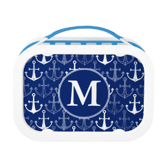 Fun Anchor Pattern | Add Your Initial Lunch Box