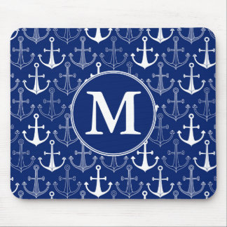 Fun Anchor Pattern | Add Your Initial Mouse Mat
