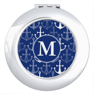 Fun Anchor Pattern | Add Your Initial Vanity Mirror