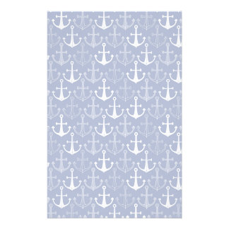 Fun Anchor Pattern Customised Stationery