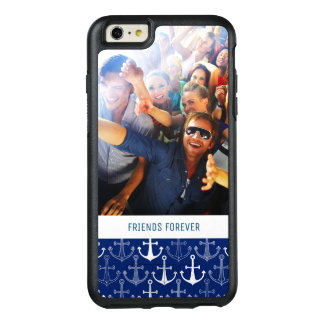 Fun Anchor Pattern | Your Photo & Text OtterBox iPhone 6/6s Plus Case