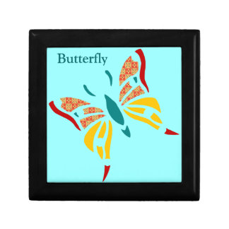 Fun and Colorful Butterfly Jewelry Box