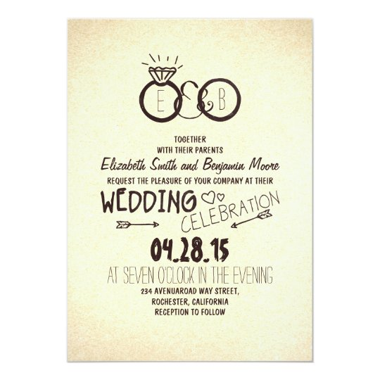 Fun and creative wedding invitations
