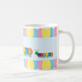 Fun and cute Caterpillars Coffee Mug