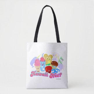 Fun and Cute Kawaii Not? Tote Bag