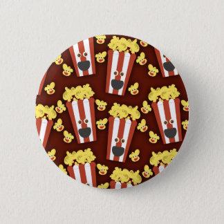 Fun and Fresh Movie Popcorn 6 Cm Round Badge