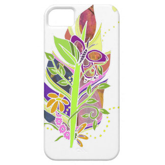 Fun and Funky Pollinator Inspired Nature Feather iPhone 5 Covers