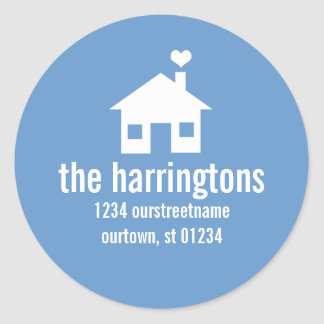 Fun and Modern Address Stickers