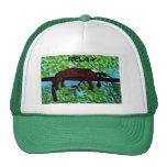 Fun Animal Red Lemur Art Cap