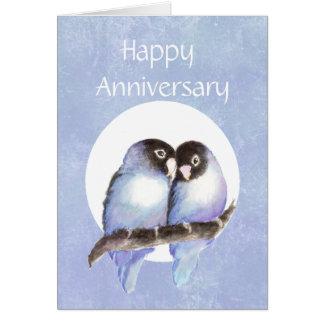 Fun Anniversary Love bird Humor Greeting Card
