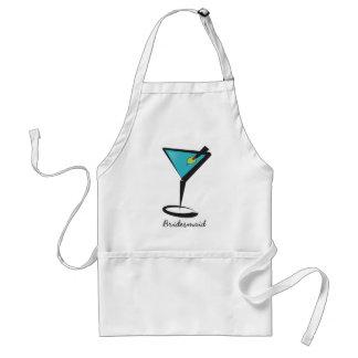 Fun Aqua Martini Aprons
