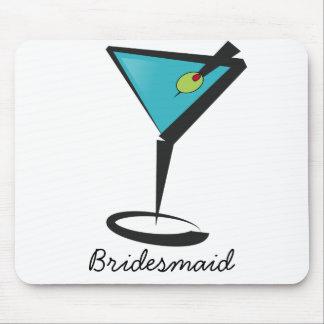 Fun Aqua Martini Mousepad