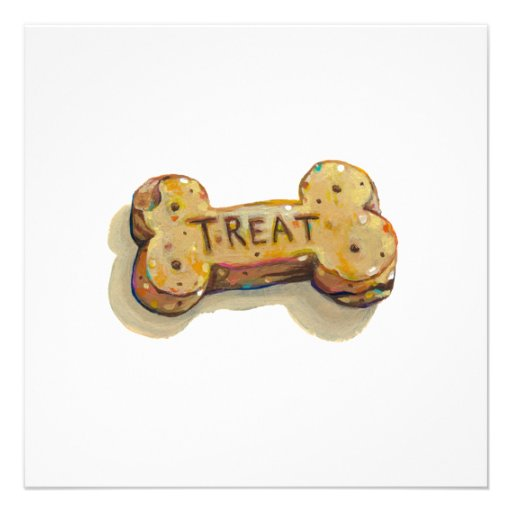 Fun art treat for dog lovers sitters trainers pets custom announcements