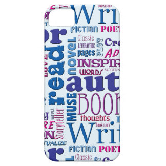 Fun Authors Pattern Barely There iPhone 5 Case