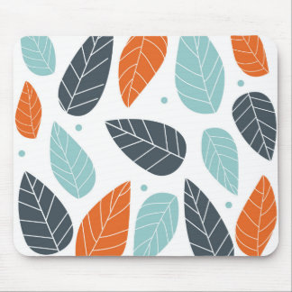Fun Autumn Leaves Mouse Pad