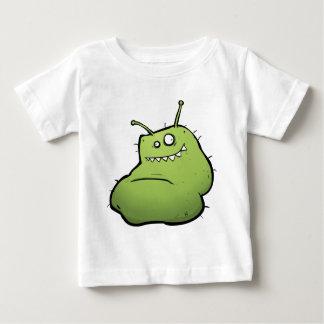 Fun Baby T-shirt - Friendly Green Alien Monster