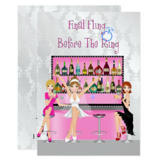 Fun Bachelorette Party Invitation