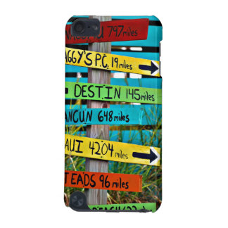 Fun Backyard Travel Signs iPod Touch (5th Generation) Cases