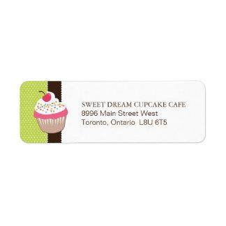 Fun Bakery Return Address Label