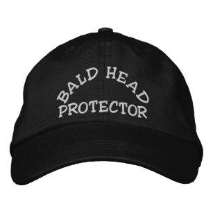 custom bald head hats caps zazzle co uk