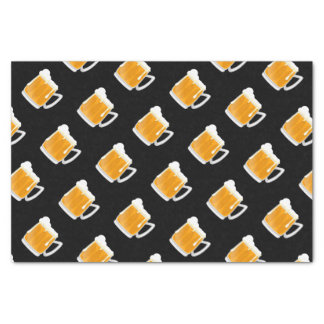 Fun beer pattern tissue paper