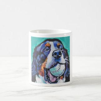 FUN Bernese Mountain Dog pop art painting Coffee Mug