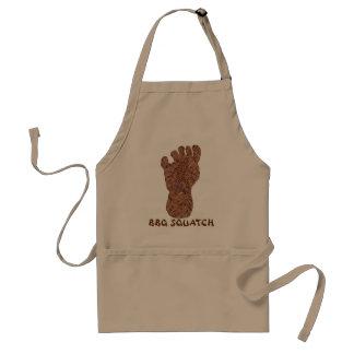 Fun Bigfoot Sasquatch Yeti BBQ Squatch Apron