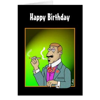 Fun Birthday card for posh Boys