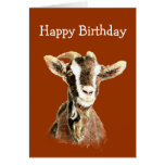 Fun Birthday, From the Old Goat who Loves YOU Greeting Card